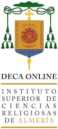 Logotipo DECA ONLINE - Instituto Superior de Ciencias Religiosas de Almería - Centro vinculado a la UNIVERSIDAD PONTIFICIA DE SALAMANCA